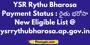 YSR rythu bharosa scheme details