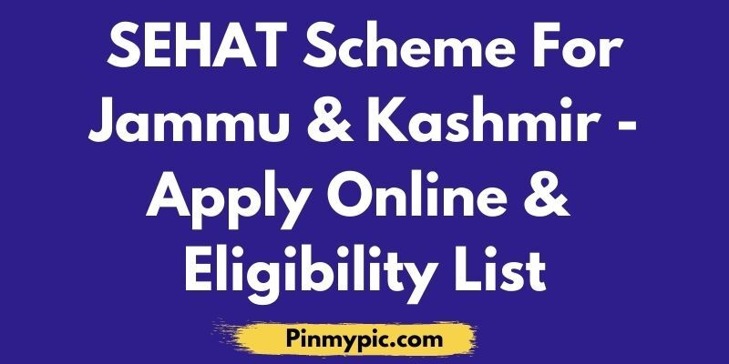SEHAT Scheme Apply Online